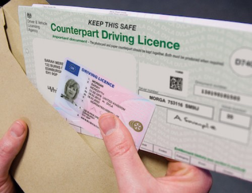 The end of the paper driving license
